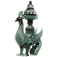 青铜六楞花瓶