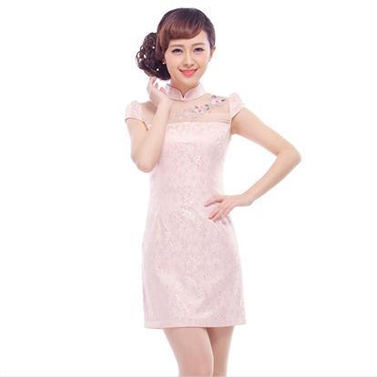 棉麻女装中式旗袍
