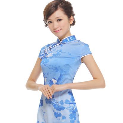 女士旗袍秋装裙