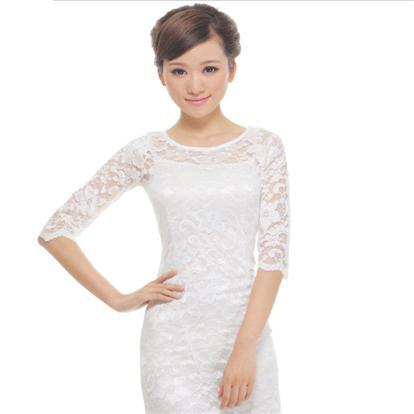时尚旗袍改良性感蕾丝