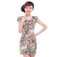 2014夏装时尚改良旗袍