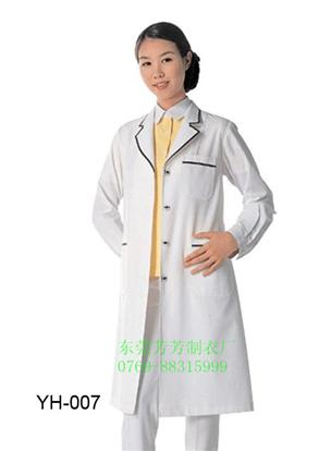 廠家直銷 醫生白大褂女護士服工作服勞保短袖夏裝美容服粉