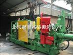 北京亦注塑机设备卸车搬运车间设备定位安装