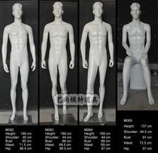 男装橱窗模特123