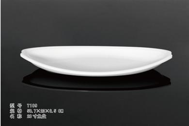 T109    20寸鱼盘