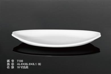 T108    18寸鱼盘
