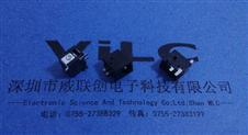 .电源插座DC-044T三脚贴板SMT2.0针