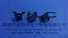 电源插座DC-044三脚插板DIP2.5针