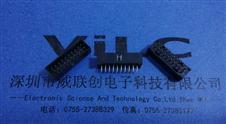 简牛-20P双排-2.0针座DIP插板