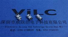 MINI USB 4P母座B型SMT