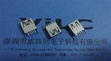 USB 3.0 AF 180度 13.7插板 直脚卷边