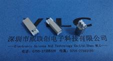 180度 BM焊线式公头 镀金30U