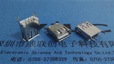 AF-A母180度弯角直插 13.7有边(ROHS环保+LCP耐高温)PBT白胶