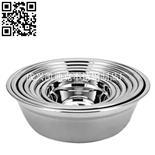 不锈钢加深汤盆(Stainless steel Soup basin)ZD-TP03