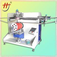 溶剂桶滚印机screen printing machine for buckets, pail printing machine, buckets screen printing machine fo