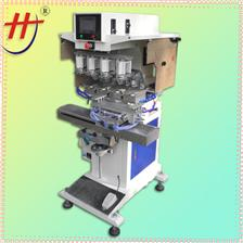 四色伺服移印机precision electric pad printing machine,four color pad printing machine,4-color pad printing