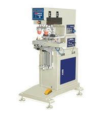东莞恒锦生产移印机HP-125B Pneumatic two colors shuttle pad printing machine