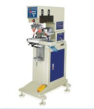 东莞恒锦生产双色油盅移印机HP-160BY semi-automatic 2 colors ink cup pad printing machine