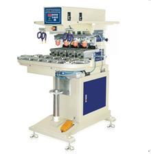 恒锦移印机HP-200D Pneumatic four colors shuttle pad printing machine