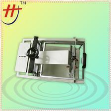 手动曲面丝印机,杯子丝印机,手环丝印机LT-S1 manual simple pen curve screen printing machine for round products