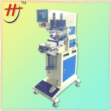 FESTO气缸移印机HP-160BY Pneumatic 2 colors ink cup fabric logo pad printing machine