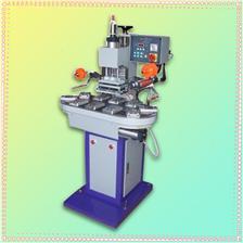 东莞恒锦生产转盘烫金机conveyor hot stamping machine, automatic hot stamping machine, penuamtic hot foil stampin
