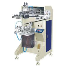 Non-planar screen printing machine (curved surface, round surface)