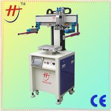 东莞恒锦生产单工位伺服丝印机Hengjin HS-260PME electric precision vacuum electronics screen printing machine