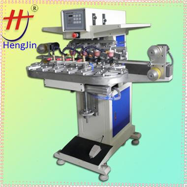 四色油盅移印机 ink cup pad printer,china pad printer,4 color pad printing machine