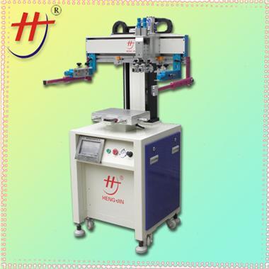 东莞丝印机precision automatic touch panel silk screen printing machine in Hengjin
