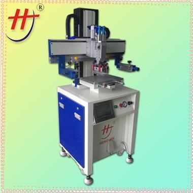 高精密伺服丝印机precision automatic dashboard printing machine with silk screen printing