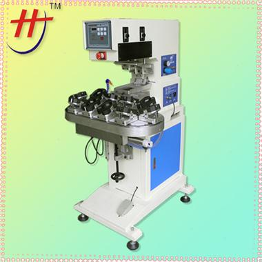 移印机Single color converyor pad printing machine with max metal plate size 100x150mm