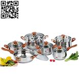 迪拜12件莊套鍋(Dubai 12-piece Stainless Steel Cookware Set)ZD-TZG087
