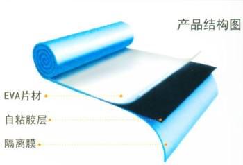 深圳防水材料供應有檢驗證書的高分子防水卷材復合雙面自粘卷材