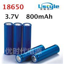 深圳锂电池生产厂家18650足容量800mAh电芯A品圆柱形电池