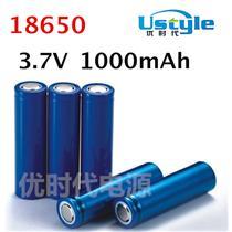 1000mAh圆柱锂电3.7V全新A品足容量电芯18650深圳锂电池生产厂家
