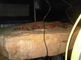 北京景观石吊装搬运玉石人工装卸搬运安装