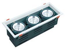 三头COB斗胆筒灯 DD001-3