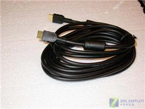 HDMI Round Cable with Metal Plated Shielding