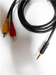 低音炮音频连接线
