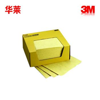 3M P-110紧急化学吸液垫 吸收强酸强碱液体 腐蚀性化学4盒/箱