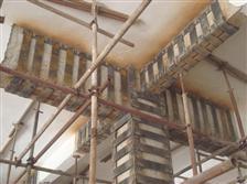 广州军区大楼包钢板灌注加固