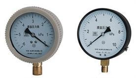 YE-100,YE-150系列膜盒压力表