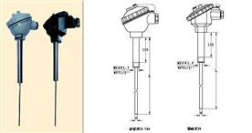 直形管接头式装配热电阻