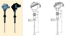 活络管接头式装配热电阻