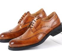 全粒面革皮鞋