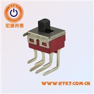 钮子开关 4PIN直足钮子开关 钮子开关滑动系列卧式TS-11P-A1-2-Q-H(M)
