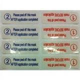手机保护膜隔胶标签