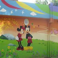 幼儿园外墙手绘墙体壁画