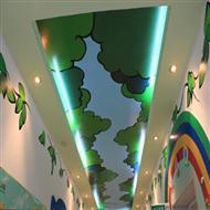手绘幼儿园墙体壁画